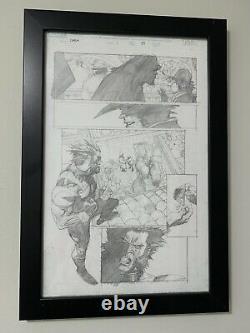 Ultimate Wolverine vs Hulk 1 Page 19 Original Art by Leinil Yu OA