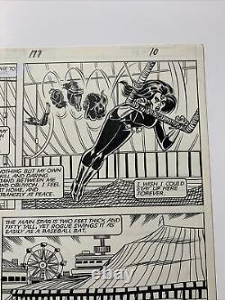 Uncanny X-men 177 Original Art Page 10 John Romita Jr. Rogue Vs Mystique Bronze