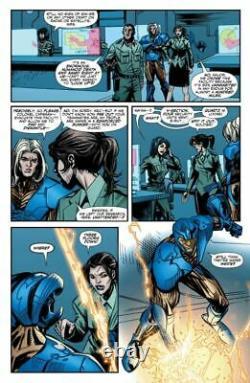 Unity #24 page 8 X-O Manowar Original Art Valiant Comics 2015 Armor Hunters