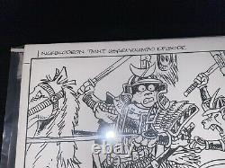 Usagi Yojimbo Stan Sakai Original Art Nickolodeon Teenage Mutant Ninja Turtles