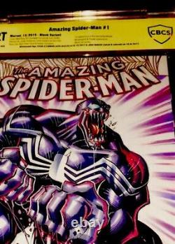 Venom 1 2018 Original Art Ryan Stegman Hand Sketch Venom Cbcs 9.8 Ss O/a Color