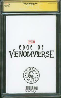 Venom 1 CGC 9.8 SS Anti Venom vs Carnage Original art Negative Spider Sketch