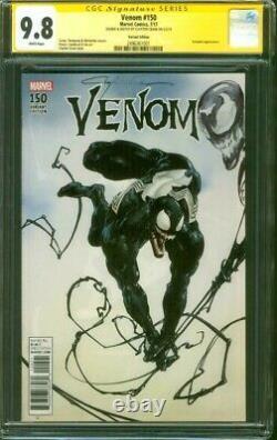 Venom 150 CGC 9.8 SS Clayton Crain 1500 Original art sketch Variant Spider Man