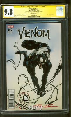 Venom 150 CGC 9.8 SS Clayton Crain 1500 Variant Original art Spider Man sketch