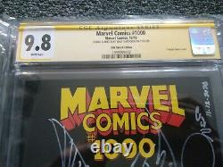WALT SIMONSON Original Art Marvel 1000 9.8 CGC SS SIGNED SKETCH Thor Avengers