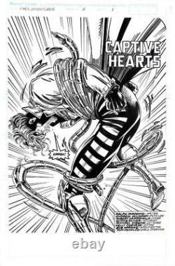 X-Men Adventures #5 Marvel 1993 (Original Art) Splash Pg #1 Andrew Wildman