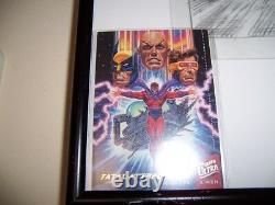 X-Men Fatal Attractions Original Pencil Comic Card Art Bob Larkin Magneto