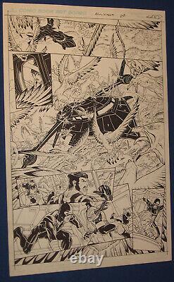 X-Men Nick Bradshaw Original Comic Art 11 x 17 Astonishing #39 Page 8 Marvel